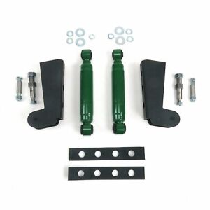 Shock Relocation Kit with Brackets and Shocks muscle cars hot rods