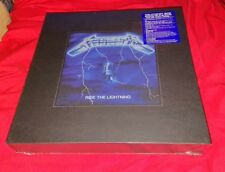 RARE! NEW #29622/30000 LIMITED METALLICA Ride The Lightning DELUXE Box Set XMAS!