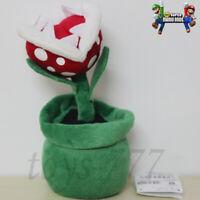 "Super Mario Bros. Piranha Plant 8"" Stuffed Animal Nintendo Game Plush Toy Teddy"