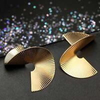 Irregular Metal stud earrings for women geometric punk earring fashion jewelry