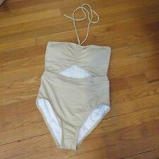Women's Michael Kors one piece halter malliot bathing/swim suit size 8 NWT $110