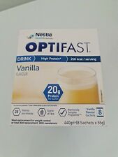 Optifast Meal Replacement Chocolate Vanilla Coffee 8 Sachets 20g Protein