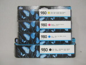 Original HP 980 Set M,Y,C,K für HP X555, X585 neu & OVP