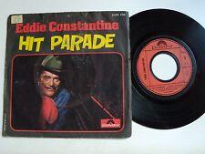 "EDDIE CONSTANTINE : Hit Parade 7"" 45T  1975 POLYDOR 2056 442 Raymond Donnez"