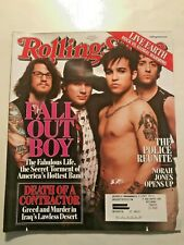 ROLLING STONE MAGAZINE # 1021 MARCH 8 2007  FALL OUT BOY THE POLICE NORAH JONES