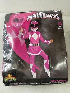 Power Rangers Pink Ranger Child Costume Medium (7/8)  B