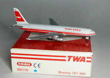 Schabak Boeing 767-3Y0ER TWA Trans World Airlines in 1:600 scale