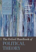 The Oxford Handbook of Political Theory by John S. Dryzek 9780199548439