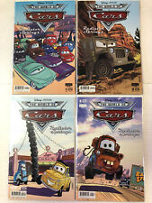 Cars: Radiator Springs #1 2 3 4 Comic Book Set A Disney Boom! 2009