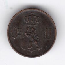 1878 Norway 1 Ore***Collectors***Bronze***