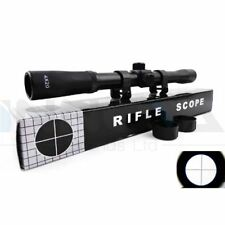Rifle Scope Telescopic Sight 4 x 20 For Rifles Crossbows Airsoft Air Rifles