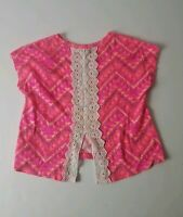 Arizona Jean Co. Girls Pink Shirt Size 4