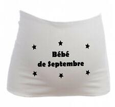 Bandeau Grossesse Maternité Bébé de Septembre - Femme Enceinte future maman