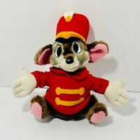 "Timothy Mouse - Vintage Dumbo Walt Disney Parks Plush Stuffed 11"" Disneyland"
