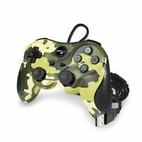 TTX Tech PS3 Wired USB Controller for PlayStation 3 PC - Green Camouflage