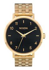 Nixon Arrow , 38 mm, All Gold / Black Sunray, Armbanduhr, A1090-2042