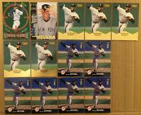 Mariano Rivera LOT of 13 cards HOF 1996-1997 New York Yankees NM+ Upper Deck UD