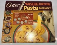 Oster Kitchen Center Pasta Accessory Set Vintage Kit 939-65 New Old Stock