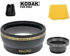 0.43x Wide Angle Lens w/ Adapter Tube for Kodak EasyShare P880