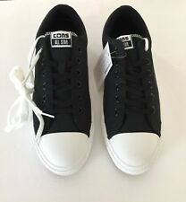 converse 137005C CONS CTS OX Black White Men size 10 free shipping