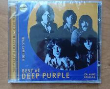 Deep Purple - Highway Star - Best Of - 24 Karat Zounds Gold CD