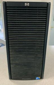 Hp ProLiant ML350 G6 Tower Server Xeon Quad Core 24GB Ram 4x500GB HDD