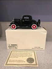 1932 FORD 3 WINDOW COUPE DIE CAST MODEL CAR