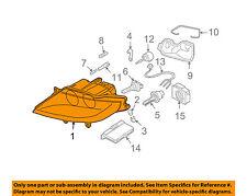 BMW OEM 06-08 Z4-Headlight Assembly 63127165689