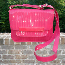 Handbag - Ted Baker - Patent Leather Pink Skapari Quilted Across The Body Bag