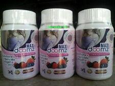 5pcs Maxi Doomz Glutathione anti aging whitening active & breasts bigger 150cap