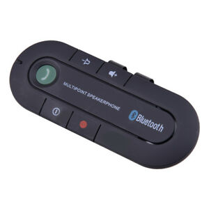 Drahtloser Bluetooth Freisprech Lautsprecher Auto Kit Clip Visier für Handy