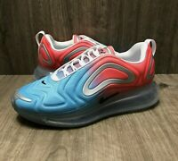 (SIZE 7) Nike Women's Air Max 720 Lava Glow/Blue Fury Running Shoes AR9293-600