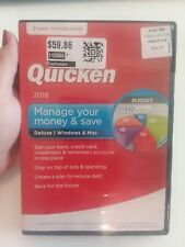Quicken Deluxe 2018 Manage Your Money and Save Windows/Mac 2 Year Membership A1