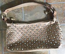 Kathy Van Zeeland small suede embellished handbag/purse