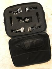 Stage Line drum microphone set and leads