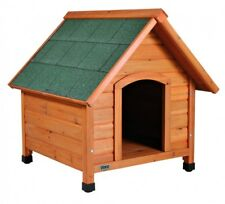 Trixie natura Hundehütte Cottage mit Satteldach M: 77 × 82 × 88 cm natur