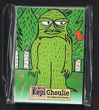 THE ART OF KEPI GHOULIE TRADING CARD SET w/ 2 PREMIUM Cards GROOVIE GHOULIES