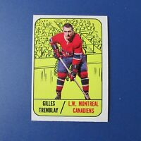 GILLES TREMBLAY  1967-68  Topps  # 5  Montreal Canadiens 1968  67-68   NR-MT/MT