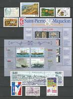 ST PIERRE ET MIQUELON SPM N° 686/705 ANNEE 1999 Neufs** (sous faciale)