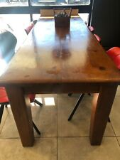 Solid Timber Cafe Tables - Ex Eureka Furniture -perfect for Cafe or Restaurant