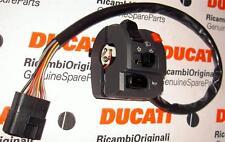 2003-05 Ducati ST4S ABS left handbar switch assembly, lights, signals 65140121A