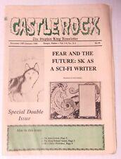Stephen King - The Castle Rock Newsletter Dec 1987 Jan 1988 Vol 3-4 numbers 12-1