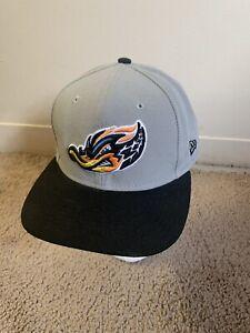 New Era Akron Rubber Ducks Snapback MLB Hat Baseball Minors