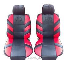 2x Sitzauflage Sitzaufleger Rot Autositzauflage Auflage Autositz Universal