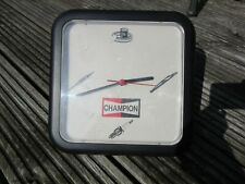More details for champion parts sign clock
