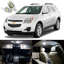 13 x Xenon White LED Interior Lights Package Kit For Chevy Equinox 2010 - 2015