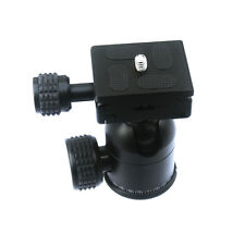 Tripod Ball Head Universal + 50mm Arca Type Quick Release For Benro Manfrotto