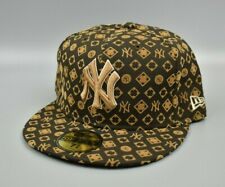 New York Yankees New Era 59FIFTY Gold Men's Fitted Cap Hat - Size 7 5/8