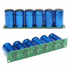 6PCS 2.7V 500F Farad Capacitor Super Capacitor With Protection Board Module Set