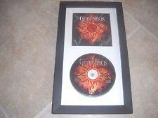 Godsmack 1000 HP All 4 Band Signed Autographed Framed CD Display PSA Guaranteed
